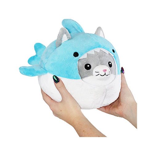 "Squishable Undercover Kitty in Shark 7"" Plush"