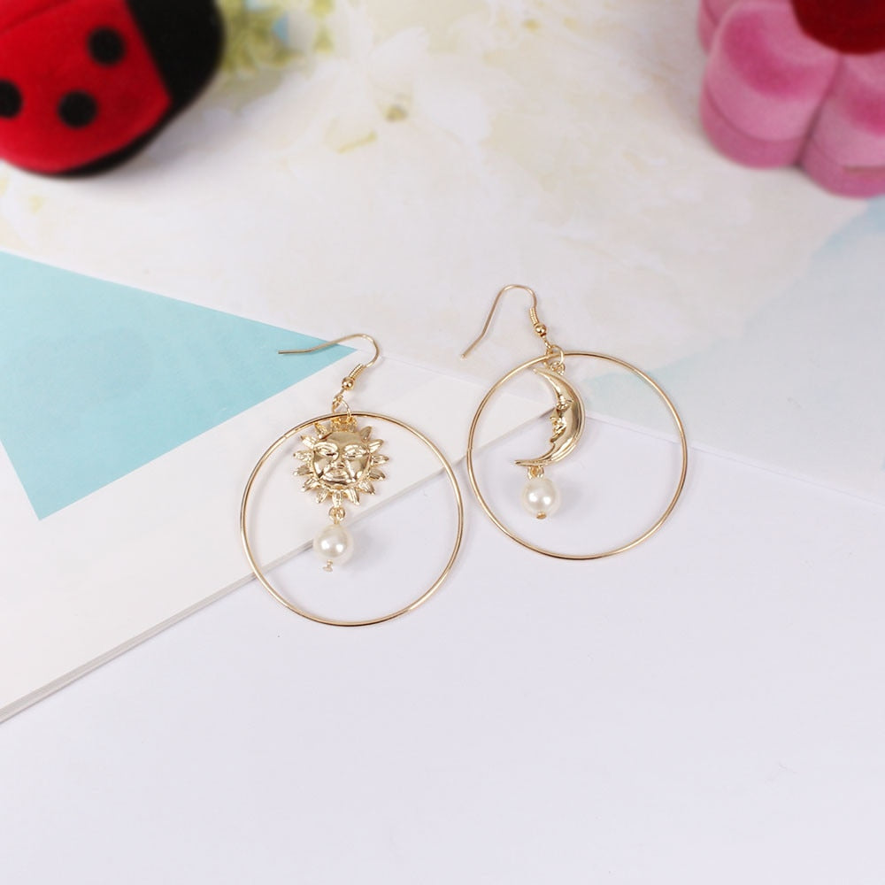 Sun&Moon Earrings
