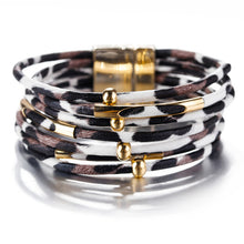 Load image into Gallery viewer, Multi Layer Leather Bracelets