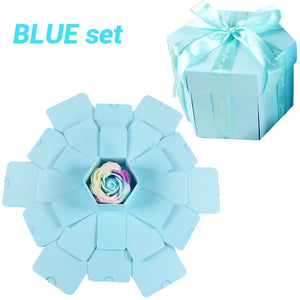 Hexagon Gift Explosion Box