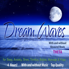 Dream Waves - Binaural Beats Theta Brainwave Entrainment Sleep and Meditation Music - MP3 Version