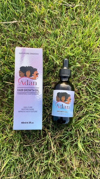 Save up and Bundle up 2 Adan intense hair growth oil  ( Larger 60ml )
