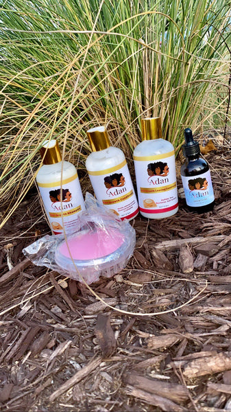 THE ESSENTIALS KIT FOR HAIR GROWTH( Hair growth oil size :60ML) Free shipping