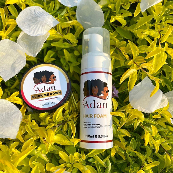 Adan Slick Me Down and Adan curls Activator