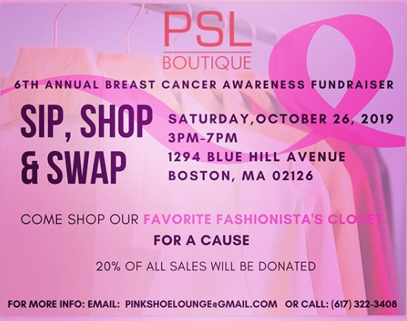 Breast Cancer Awareness Fundraiser @ PSL Boutique