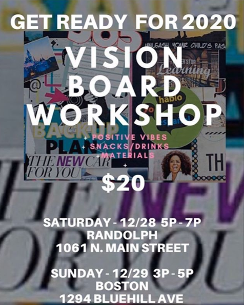 Vision Board Workshop @ PSL Boutique