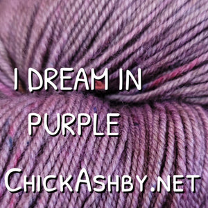 I Dream In Purple