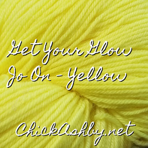 Get Your Glow-Jo On - Yellow