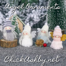 Load image into Gallery viewer, Angel Ornaments