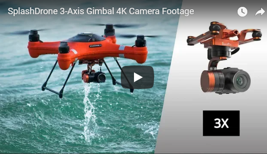 Splash Drone 3 with 3 Axis Gimbal