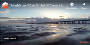 4K Camera of the Splash Drone 3