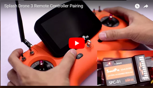 Swellpro Tutorial Video on Remote Controller Pairing of Splash Drone 3