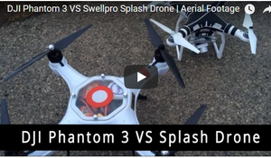 Splash Drones Vs DJI Phantom