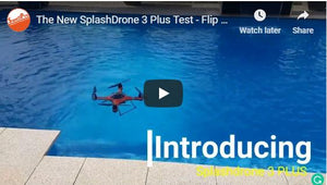 The New Splash Drone 3 Plus Test-Flip
