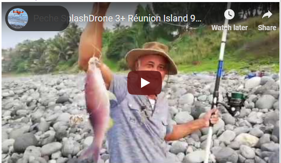 Fishing With Splash Drone 3 +