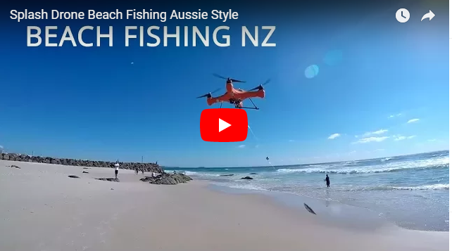 Swellpro Splash Drone Beach Fishing