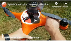 Splash Drone 3 Plus Compass Calibration Process
