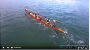 Dragon Boat with the Splash Drone 3