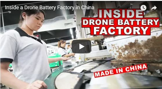 Inside a Drone Battery Factory in China