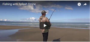 Fishing with Your Splash Drone