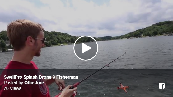 Fishing with Splash Drone 3