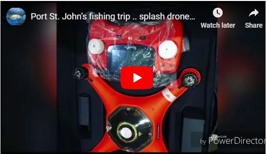 Fishing with Splash Drone 3 Plus