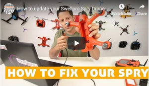 How To Update Your Swellpro Spry Drone and Fix Issues