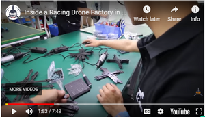 Racing Drone Factory in China