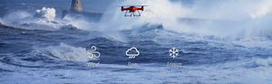 Splash Drone 3- An All Weather Drone