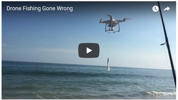 Drone Fishing, Anyone?