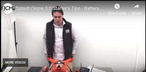 SplashDrone 3 Battery Care