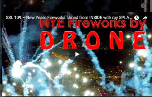 New Year's Eve with Splash Drone