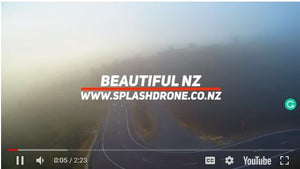 See New Zealand Though The Splash Drone 3's Lens