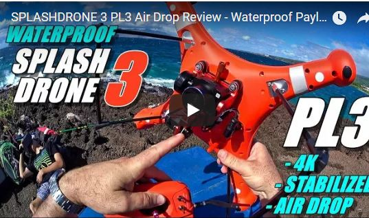 The Splash Drone 3 Payload Release System Review
