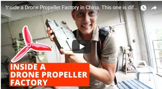 Inside a Drone Propeller Factory in China
