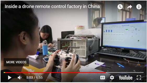 Inside a Drone Remote Control Factory in China