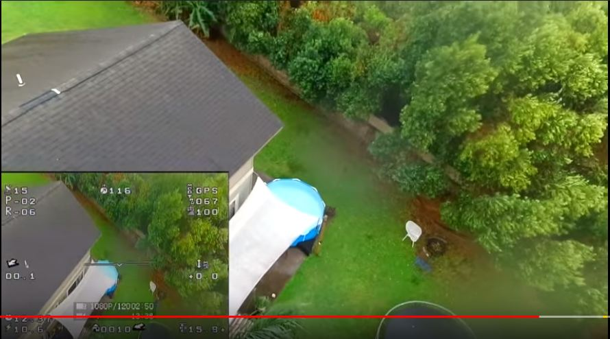 SPRY Waterproof Drone Review - Flight Test in the RAIN! & CRASHING!