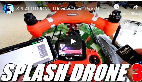 SPLASH DRONE 3 Review -  Unboxing, Inspection, Setup
