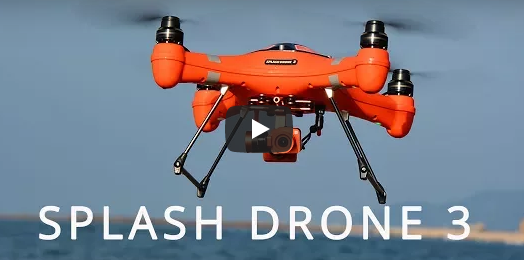 Swellpro Splash Drone 3 For Emergency Purposes