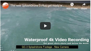The new Splash Drone 3 Plus get ready with great improvements