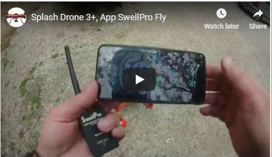 Splash Drone 3+, Fly  App Tutorial