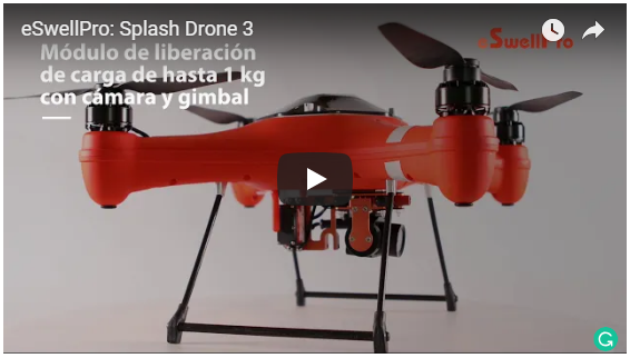 Splash Drone 3- The Waterproof Drone
