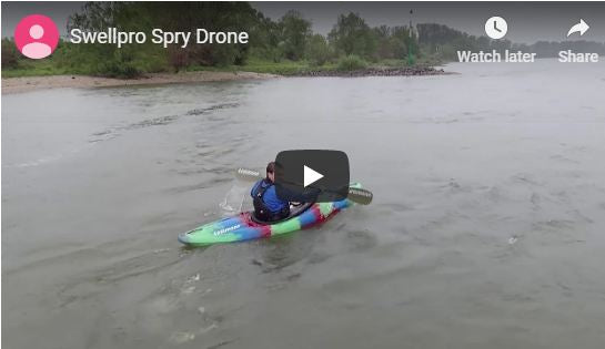 Spry Drone Video Footage
