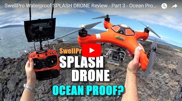Is your Splash Drone 3 Ocean Proof?