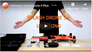 Unboxing Splash Drone 3 Plus