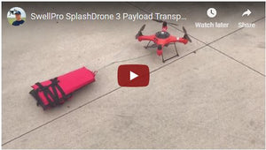 Splash Drone 3 For Search and Rescue Operations