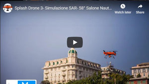 Simulation SaR Operation with Splash Drone 3
