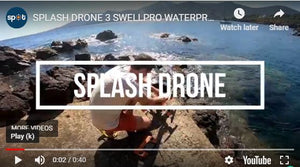 Splash Drone 3 100% waterproof drone