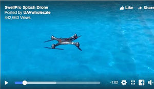 Flip Mode in Splash Drone 3 Plus