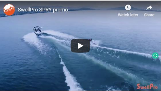 Spry Drone Perfect for Boating
